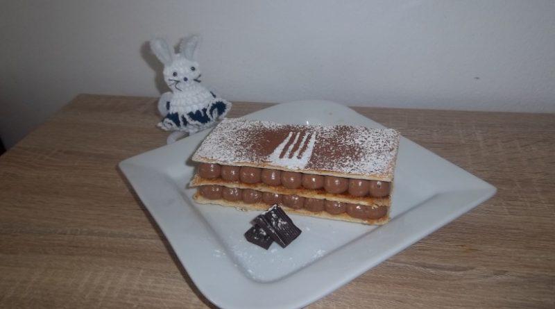 Čokoladni mille-feuille ''tisoč listov''