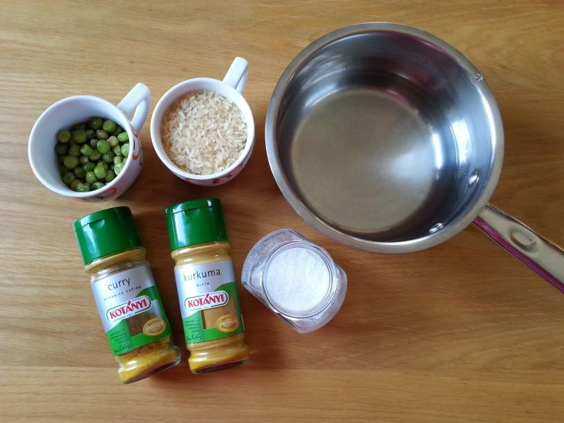 Indijski riž s karijem