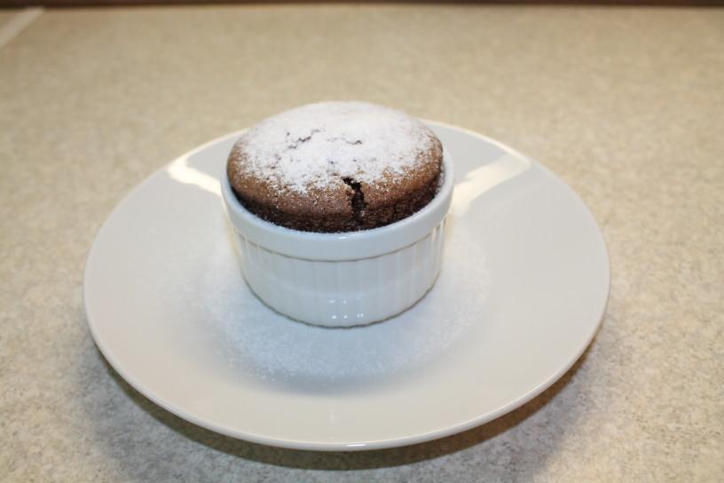 čokoladni souffle