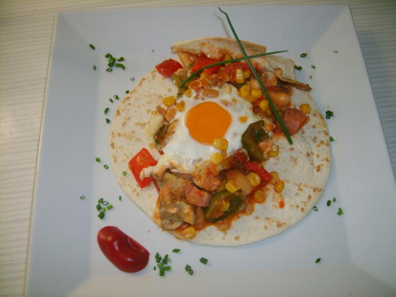 Pikantna jajca z navdihom Mehike