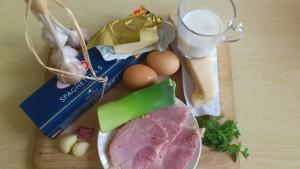 Špageti ala Carbonara obogateni s porom in zelišči (6)