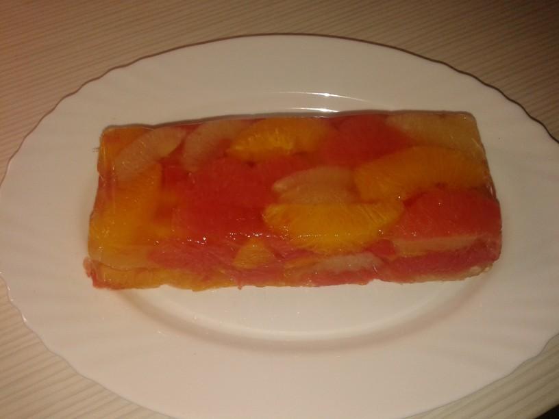Citrusov žele z melonino omako