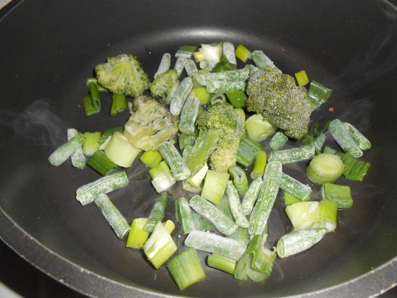 Zeleni preliv za špagete