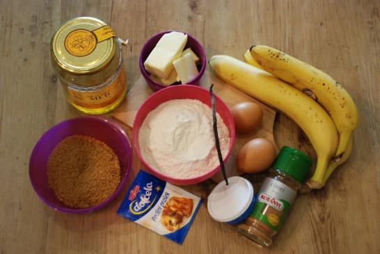 Puhast bananin kruh