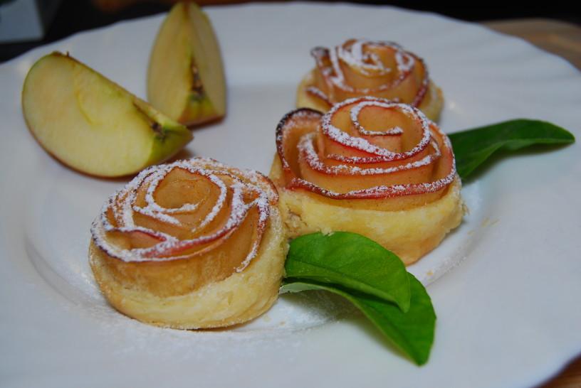 Sladke jabolčne vrtnice