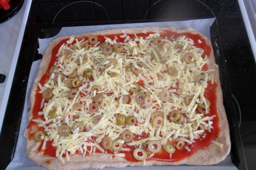 Njam, njam kraška Pizza brez kvasa