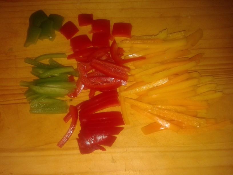 Nasvet za rezanje paprike
