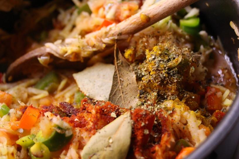 zavitek s papriko, kolerabo in bucnimi semeni (2)