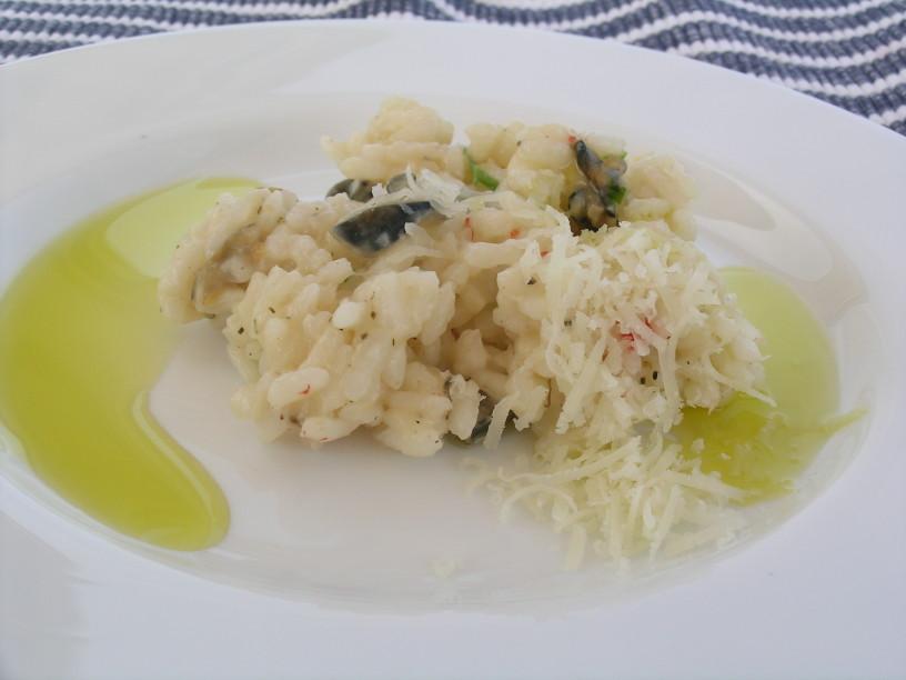 prilepki ali latvice v okusni rižoti