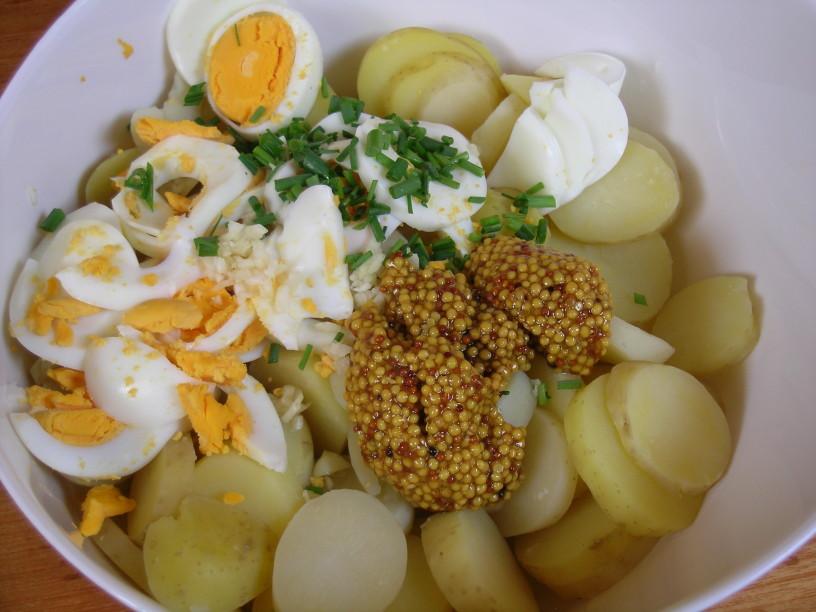 Drugačna krompirjeva solata 3