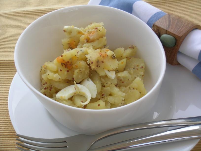 Drugačna krompirjeva solata 4