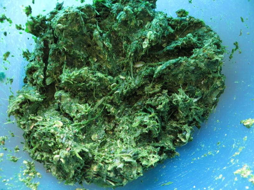 Zelo zeleni polpeti iz špinače in blitve