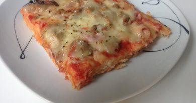 Pizza iz brezglutenske moke