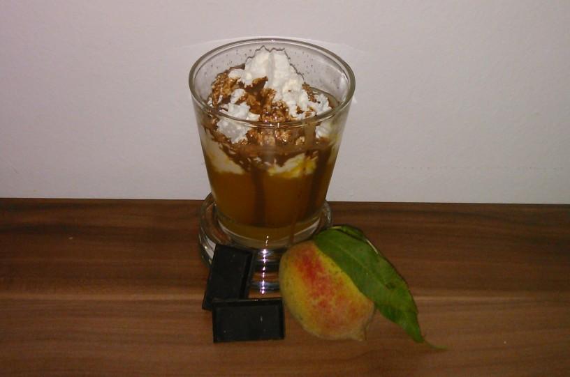 Breskvino-cokoladna osvezitev