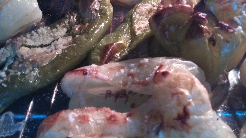 Rižota iz pečenih paprik