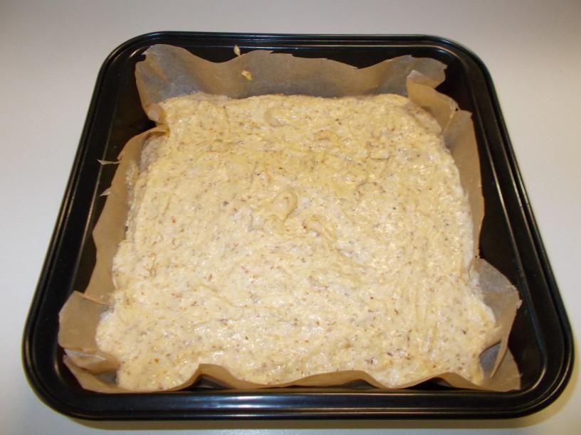 Mandljev kolač z breskvami 6