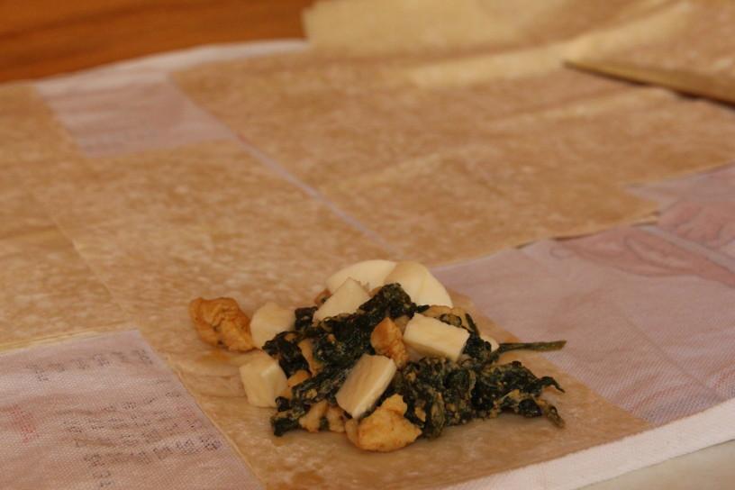 spinacni zepki s piscancem in mocarelo (7)