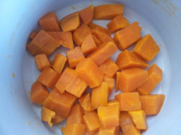 Pire iz sladkega krompirja - yam