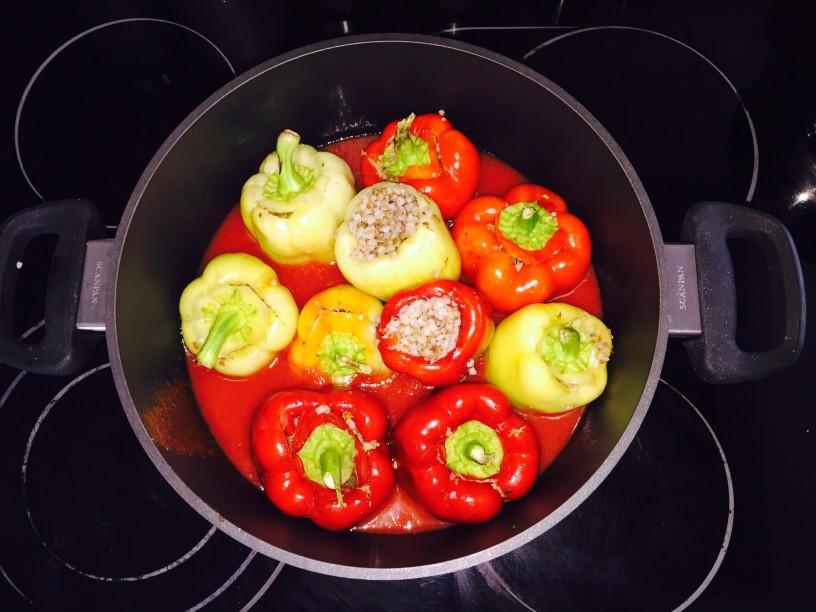 Slovenske polnjene paprike