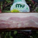 Mlad stročji fižol s hrustljavo slanino (2)