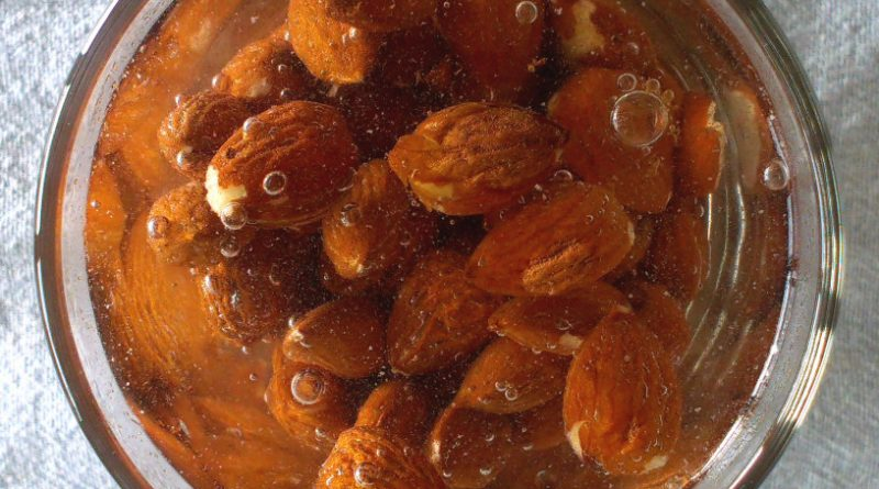 Namakanje oresckov in semen