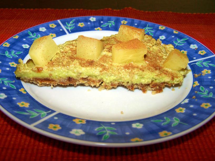 Presna avokadova tortica