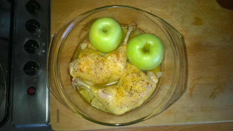 Sladko kisli piščanec iz pečice