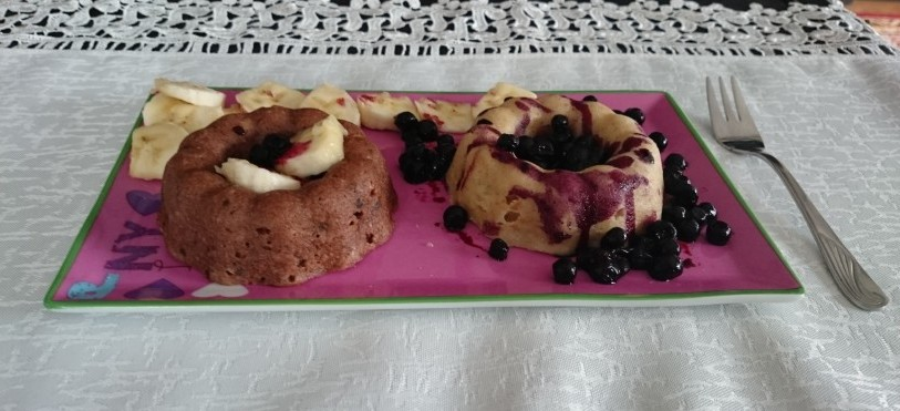 Ovseni mug cake