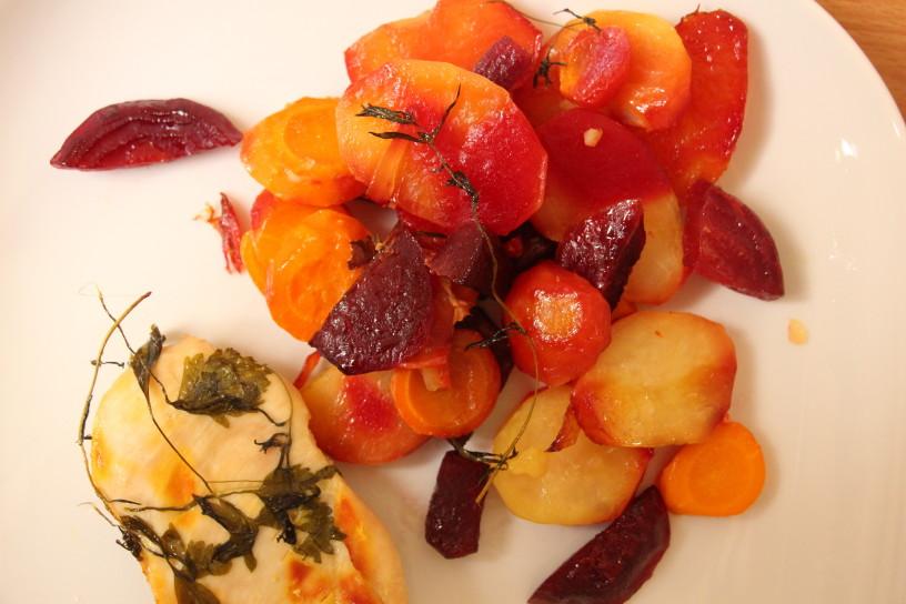 v foliji pecena zelenjava in meso (11)