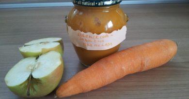 korenčkovo - jabolčna marmelada s stevio