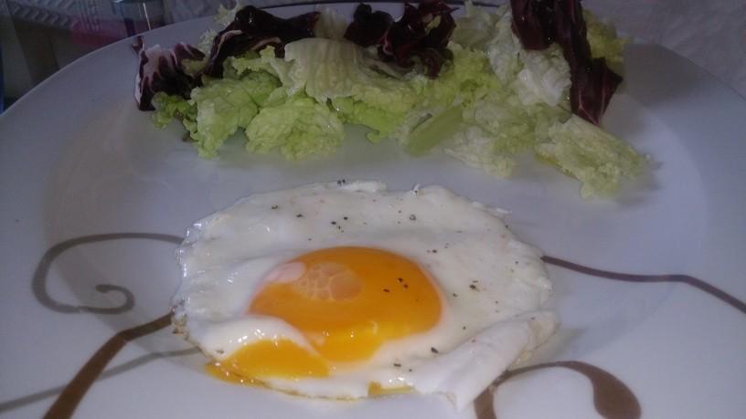 Jajce na oko brez sluzi