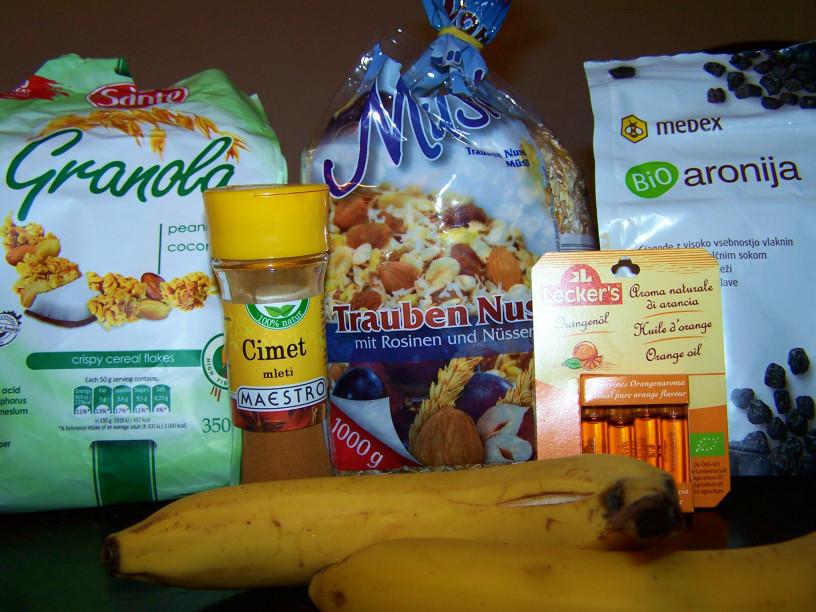 Ovseni piškoti z banano