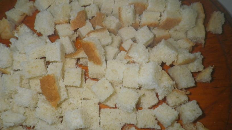 Pražene kruhove kocke