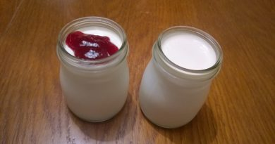 Domače kislo mleko ali jogurt