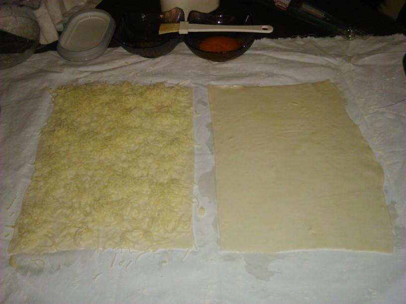 Hrustljave palčke s sirom in sezamom