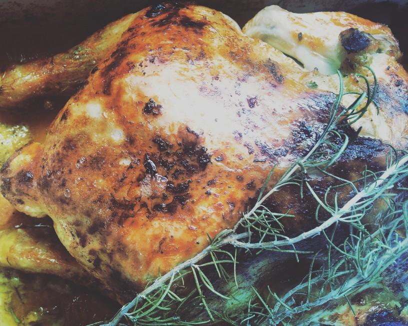 Okusen polnjeni piščanec Kalimero