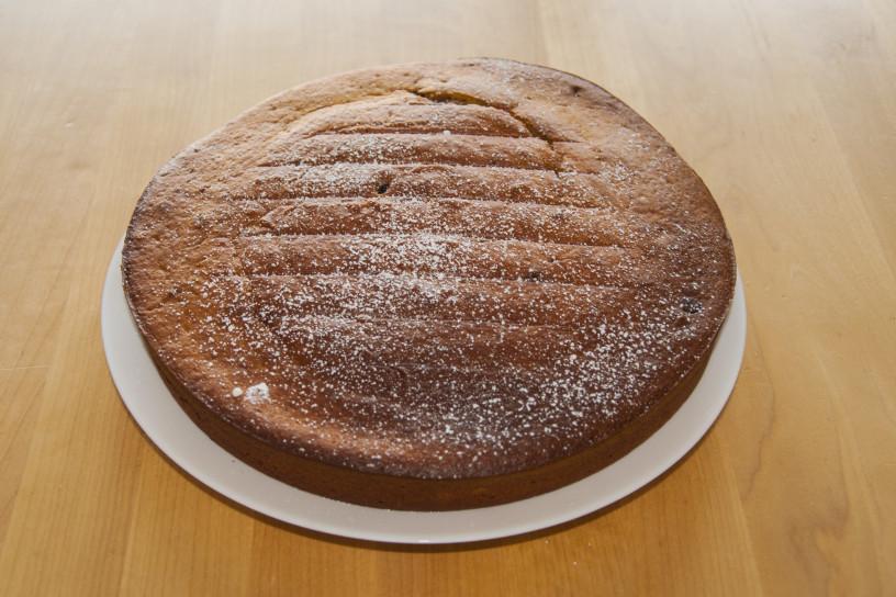 Kakijeva torta, mehka kot oblak