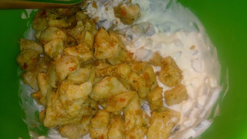 Sočni kaneloni ali polnjene palačinke s piščancem
