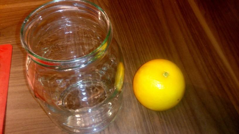 Pomarančni liker s kavnimi zrni