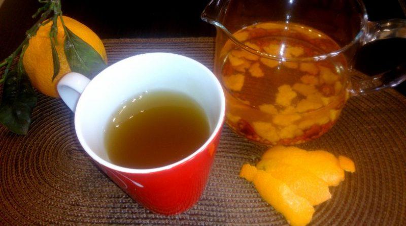 Domač mandarinin čaj