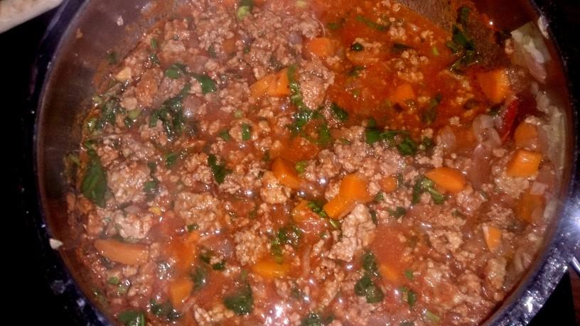 Aromatične testenine z bolonjsko omako
