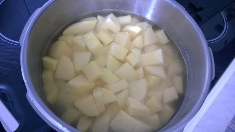 Popečen pire krompir