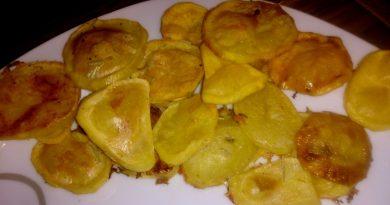 Pečen krompir z mlekom