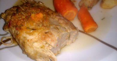 Sočna in mehka svinjska ribica