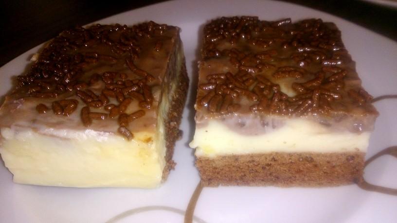 Božanski in kremast čokoladni kolač
