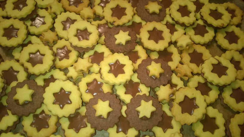 Čokoladno vanilijevi piškoti