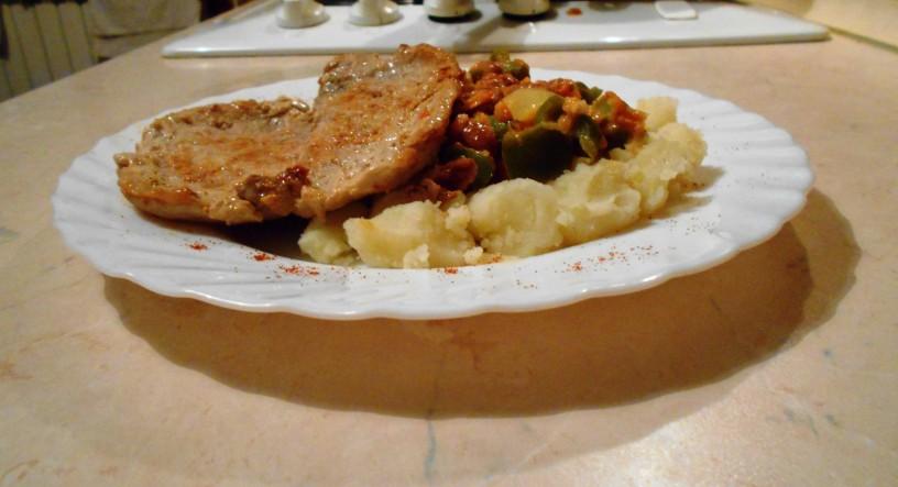 Krompir z zelenjavo
