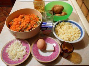 Gratinirana zelenjava s krompirjem