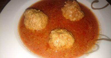 Odlični čufti ali mesne kroglice v omaki
