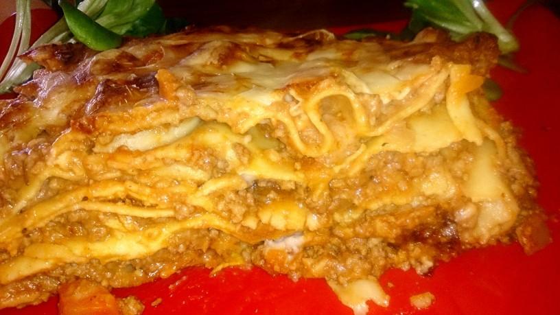 Prava italijanska mesna lazanja
